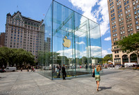 Apple flagship store, 5th Ave.  NYC