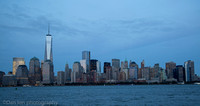 View of lower Manhattan from Empty Sky 9/11 Memorial, Liberty State Park NJ
