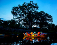 NYBG 'Dale Chihuly nights', Float Boat