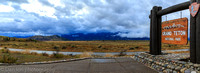 Teton Range after an afternoon shower, Jackson Hole