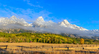 Teton Range and Jackson Hole, Grand Teton National Park