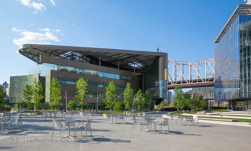 Cornell Tech campus on Roosevelt Island, NYC, Bloomberg Center
