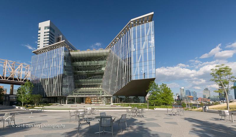 Cornell Tech campus on Roosevelt Island, NYC, Tata Innovation Center